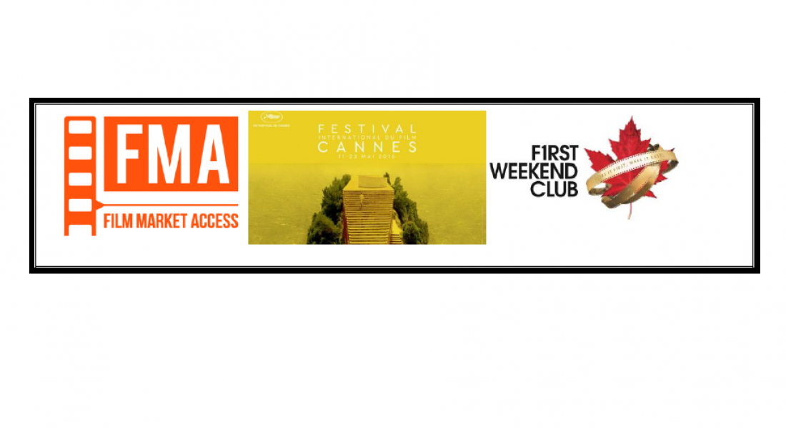 Film Market Access & First Weekend Club Selected One Canadian Emerging Producer to Send to Cannes!