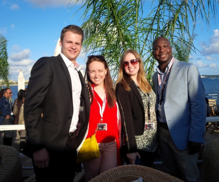 OMDC/TIFF RECEPTION IN CANNES